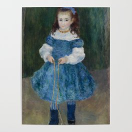 Girl with a Jump Rope (Portrait of Delphine Legrand) Poster