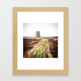 Northumberland Lead Flue Framed Art Print