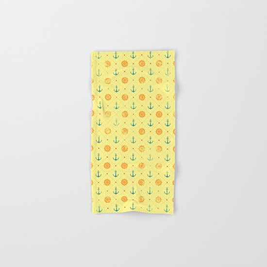 Old Navy Pattern Hand & Bath Towel