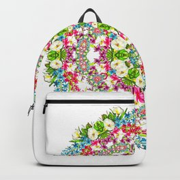 Flowers Cyrcle Backpack