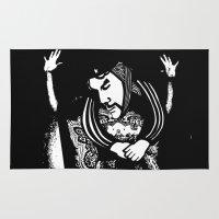 che Area & Throw Rugs featuring Che by Chuchuligoff