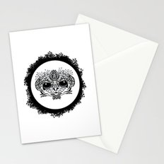 Half Evil Wild Monkey Stationery Cards