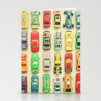 racing Stationery Cards featuring Car Park by Cassia Beck