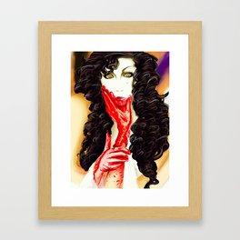 Yu~ki Framed Art Print