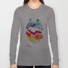Kiss Of Color Long Sleeve T-shirt