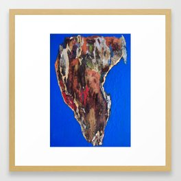 """Tierra de Fuego"" Framed Art Print"