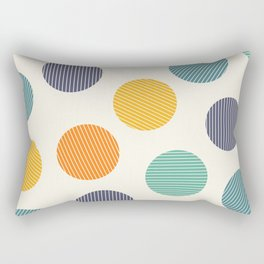 Dots with stripes [BGOY 1] Rectangular Pillow