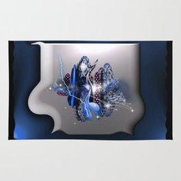 Cinad'or bleu Rug