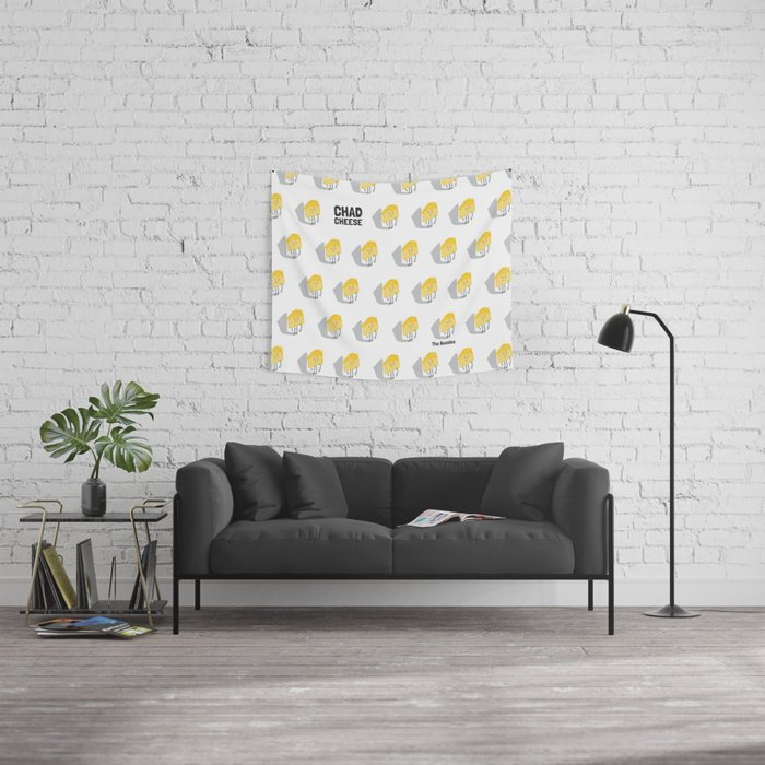 Chad Cheese Wall Tapestry