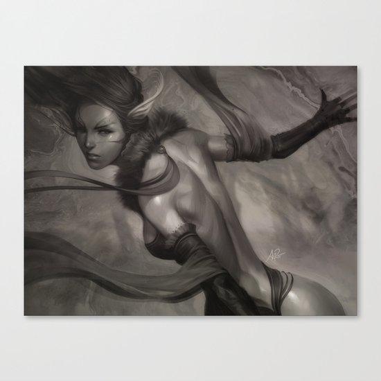 Pepper Queen Canvas Print