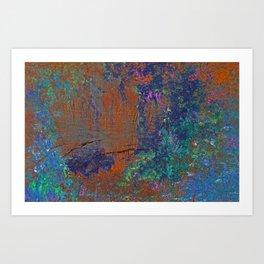 Natural Color Art Print