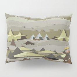 A Bronze Age Landscape Pillow Sham
