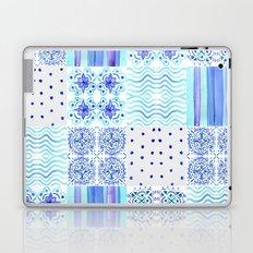 Amalfi Coast Tiles Laptop & iPad Skin