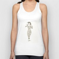 majoras mask Tank Tops featuring Mask by Judith Loske