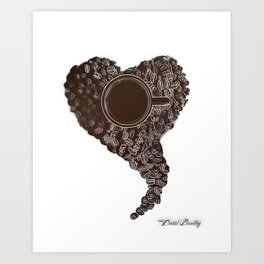 Coffee Love Art Print