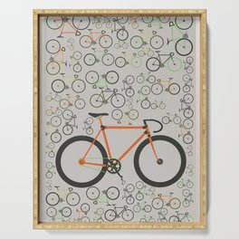 Fixed gear bikes Serving Tray