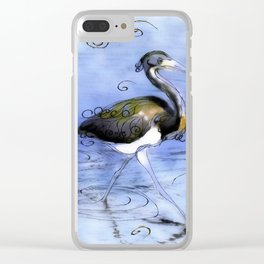 Artfully In Stride Clear iPhone Case