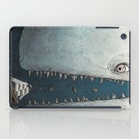 dick iPad Cases featuring Moby Dick by Jamie Leonard
