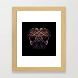 The pug Framed Art Print
