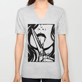 Dangerous Girl Unisex V-Neck