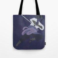 sasuke Tote Bags featuring Sasuke by JHTY