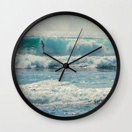 SURF-ACING Wall Clock