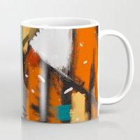 camp Mugs featuring Camp fire by mystudio69