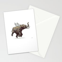 air-elephant Stationery Cards