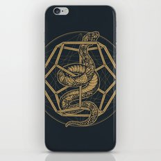 SACRED SERPENT iPhone & iPod Skin