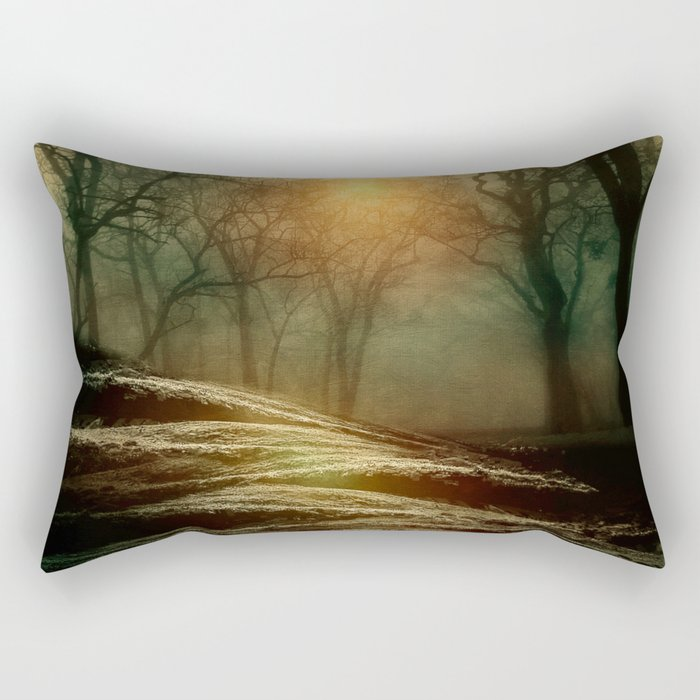 From small beginnings and big endings. by Viviana González Rectangular Pillow