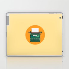 Typewriter Icon Laptop & iPad Skin