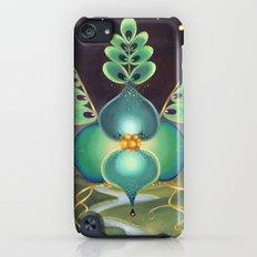 Green Flower Slim Case iPod touch