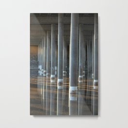 A Pillar of Strength Metal Print