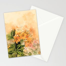 Growing Up #floral #society6 #watercolor Stationery Cards