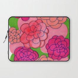 Floral Push Laptop Sleeve
