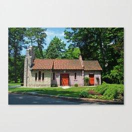 Lourdes University-  Portiuncula  Chapel in the Spring V Canvas Print
