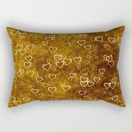 Vintage Hearts Rectangular Pillow