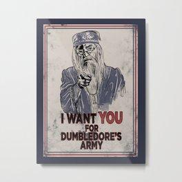 Uncle Dumbledore Metal Print