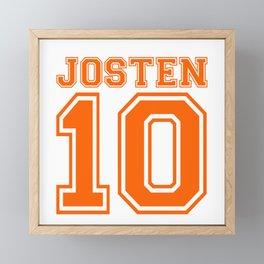 Josten 10 Framed Mini Art Print