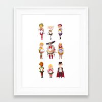 dragon age Framed Art Prints featuring Dragon Age: Sailorquisition by Niklisson