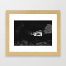 Photographer's playground Framed Art Print