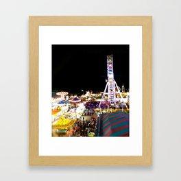 one sweet world Framed Art Print