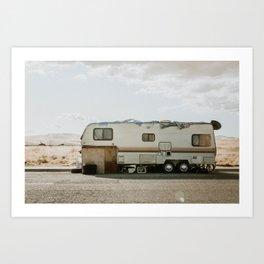 Desert RV Art Print