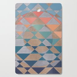 Circles and Triangles Cutting Board
