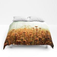 Daybreak in the Meadow Comforters