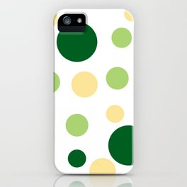 Green Pop iPhone Case