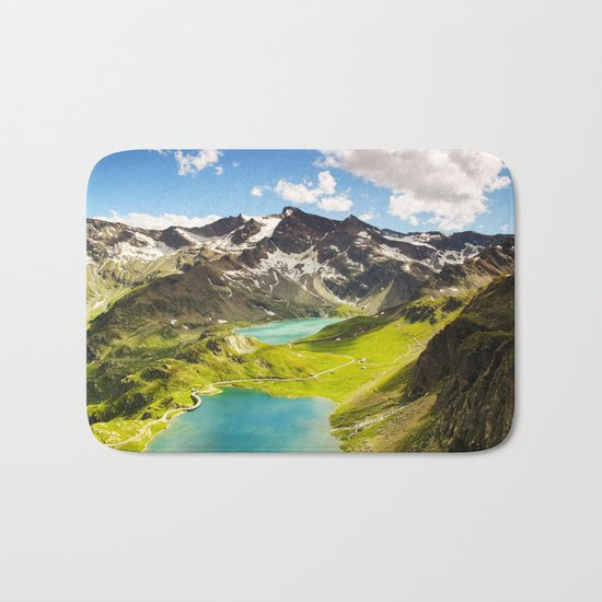 Move Mountains Bath Mat
