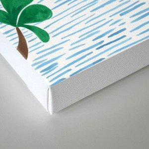 The Jungle Beach Canvas Print
