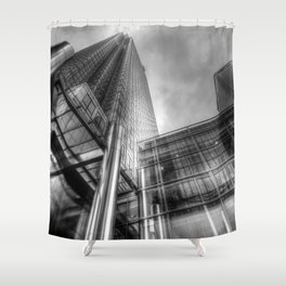 One Canada Square London Shower Curtain