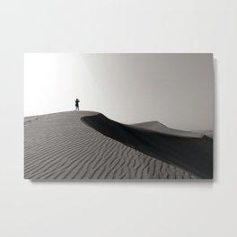 Sand Dunes of Maspalomas Metal Print